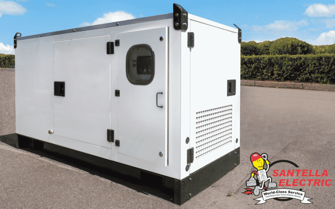 Never Lose Power with a Standby Generator
