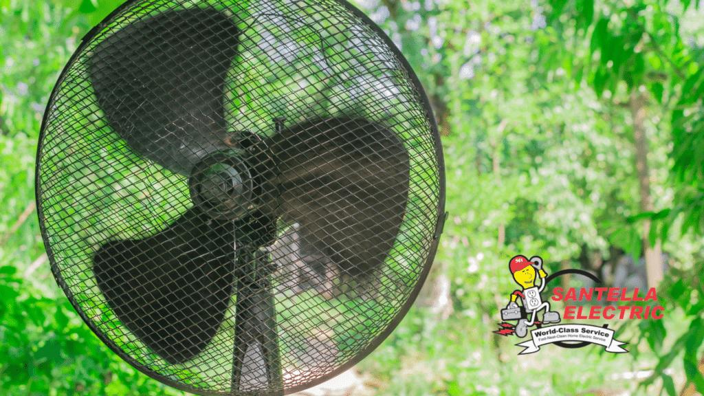 Summer Fan Blowing